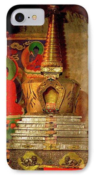Ladakh, India The Interior Of The Hemis IPhone Case by Jaina Mishra