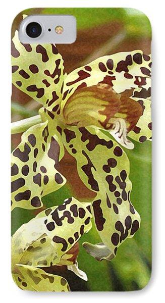 Leopard Orchids IPhone 7 Case