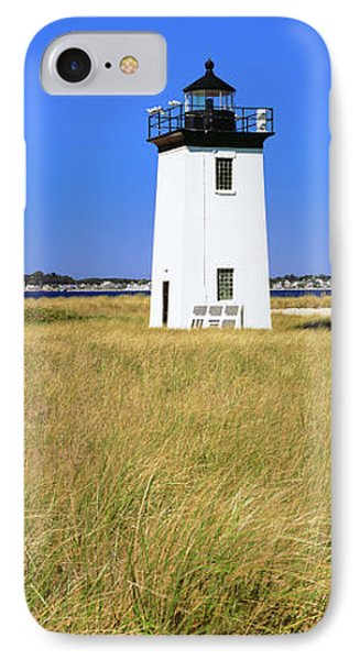 Lighthouse On The Beach, Long Point IPhone Case by Panoramic Images