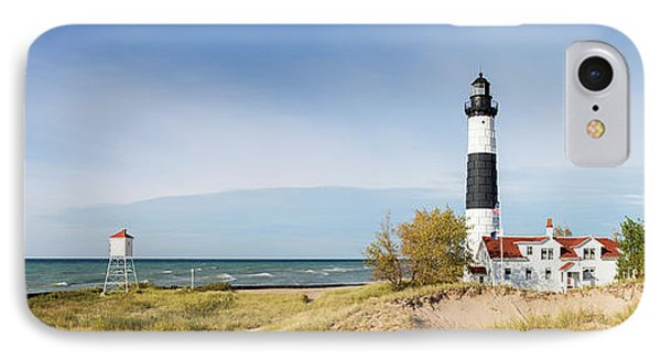 Lighthouse On The Coast, Big Sable IPhone Case