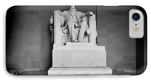 Lincoln Memorial IPhone Case by Lane Erickson