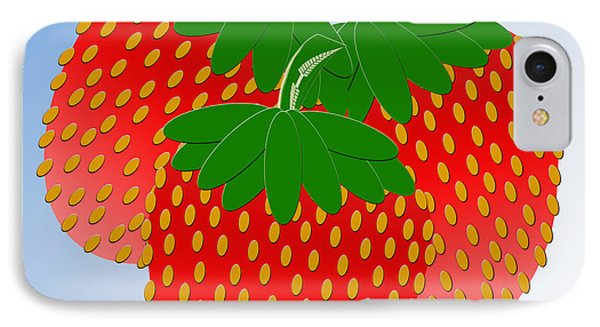 3 Little Berries Are We Phone Case by Andee Design