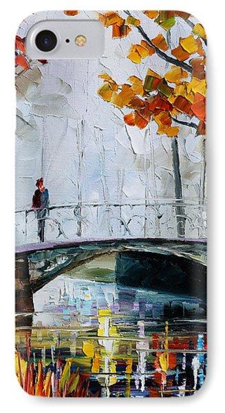 Little Bridge Phone Case by Leonid Afremov