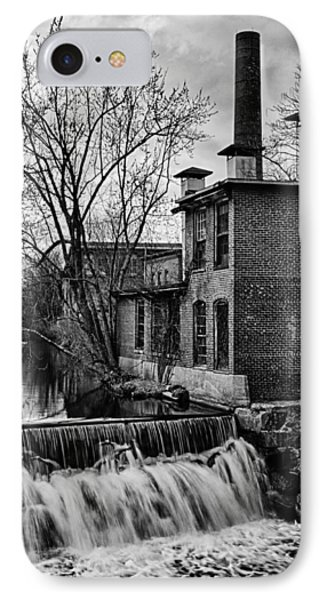 IPhone Case featuring the photograph Little River Dam by Betty Denise