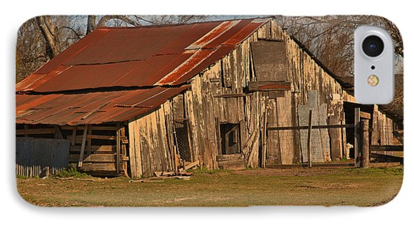Louisiana Cajun Cypress Barn IPhone Case