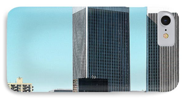 Low Angle View Of Buildings, Century IPhone Case by Panoramic Images