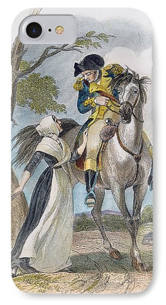 Lydia Darrah, 1777 Phone Case by Granger