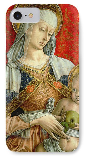 Madonna And Child Phone Case by Carlo Crivelli