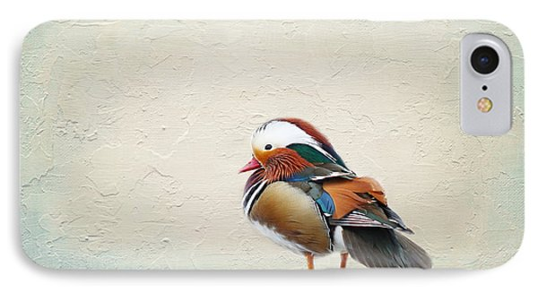 Mandarin Duck IPhone Case by Heike Hultsch