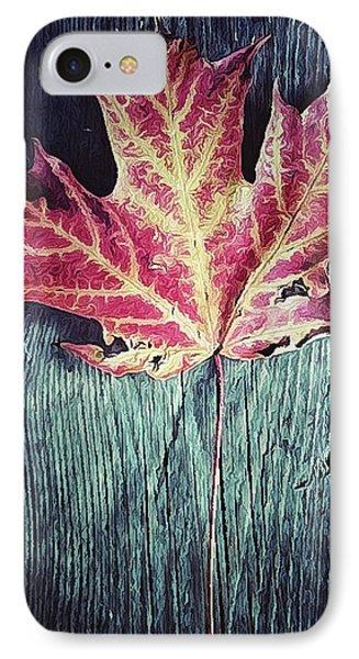 Maple Leaf Phone Case by Natasha Marco