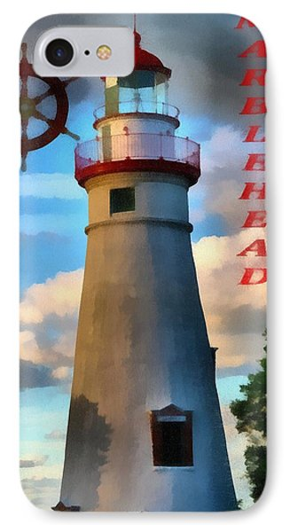 Marblehead Lighthouse IPhone Case by Dan Sproul