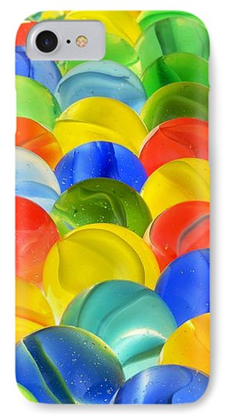 Marbles IPhone Case by Jim Hughes
