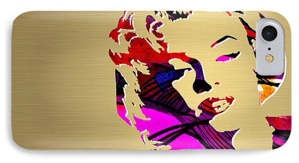 Marilyn Monroe Gold Series IPhone Case