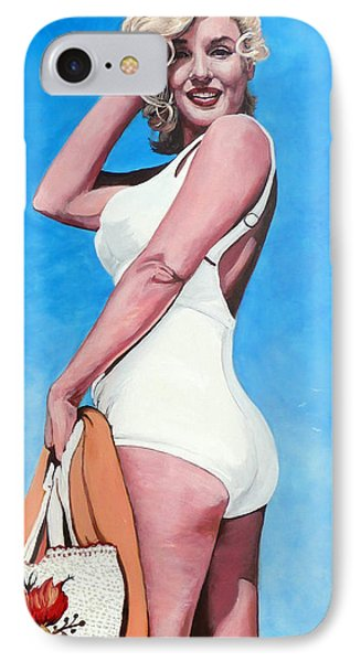 Marilyn Monroe Phone Case by Tom Roderick
