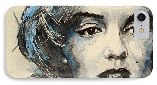 Marilyn IPhone Case by Paul Lovering
