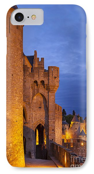Medieval Carcassonne Phone Case by Brian Jannsen