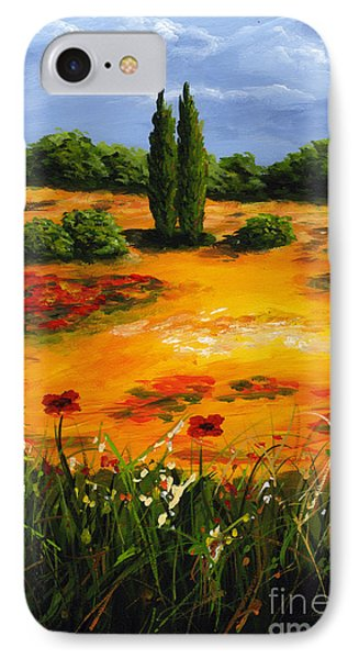 Mediterranean Landscape Phone Case by Edit Voros
