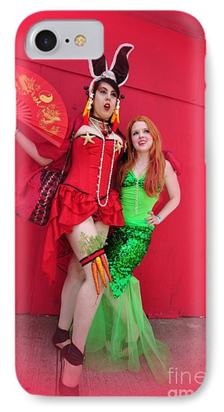 Mermaid Parade 2011 IPhone Case by Mark Gilman