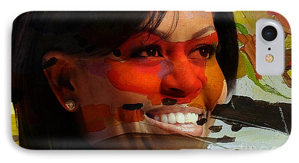 Michelle Obama Phone Case by Marvin Blaine