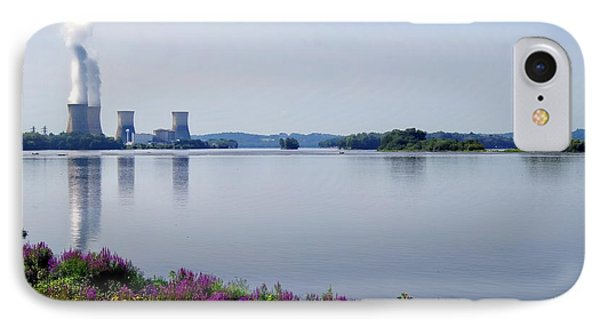 3 Mile Island IPhone Case by Kathy Churchman