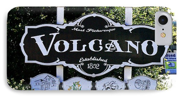 3 Miles To Volcano Phone Case by Joseph Coulombe
