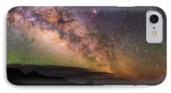 Milky Way Over La Palma IPhone Case
