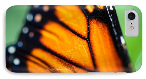 Monarch Danaus Plexippus IPhone Case by Henrik Lehnerer