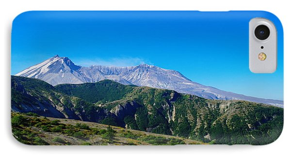 Mt St Helens Phone Case by Jeff Swan