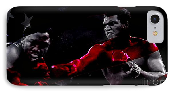 Muhammad Ali IPhone Case by Marvin Blaine