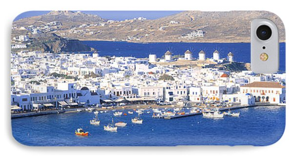 Mykonos, Cyclades, Greece IPhone Case by Panoramic Images