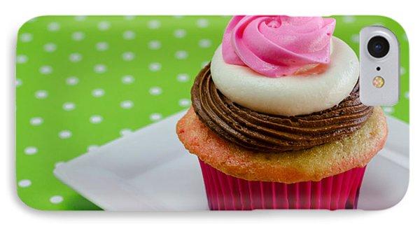 Neapolitan Cupcakes IPhone Case by Teri Virbickis