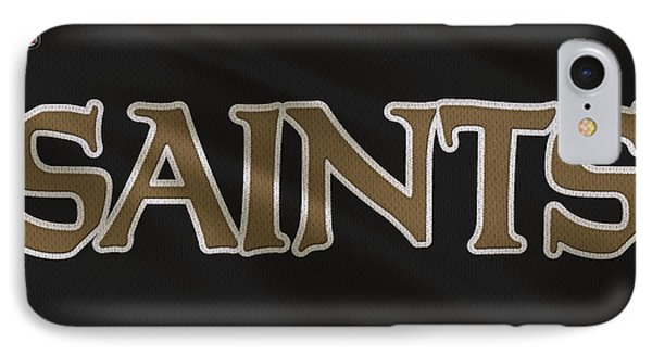 New Orleans Saints Uniform IPhone Case by Joe Hamilton