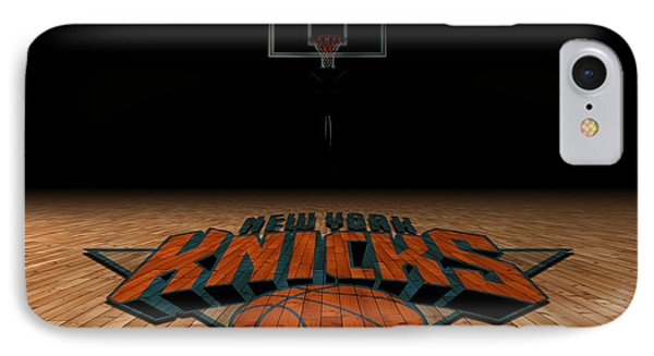 New York Knicks IPhone Case by Joe Hamilton