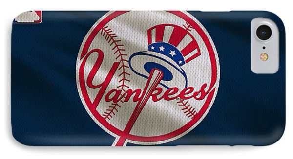 New York Yankees Uniform IPhone Case by Joe Hamilton
