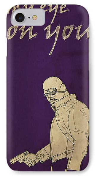 Nick Fury - The Avengers IPhone Case
