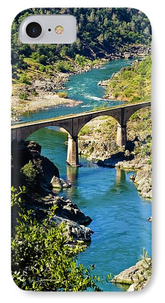 No Hands Bridge IPhone Case by Sherri Meyer