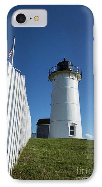 Nobska Lighthouse Phone Case by John Greim