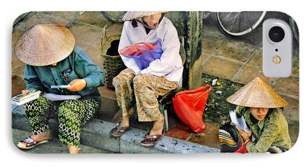 3 Non La In Hoi An-vietman IPhone Case