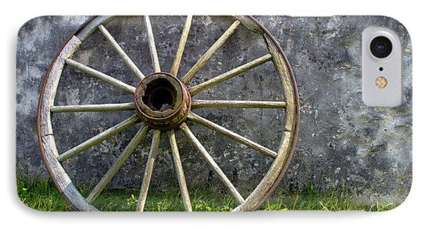 Antique Wagon Wheel IPhone Case