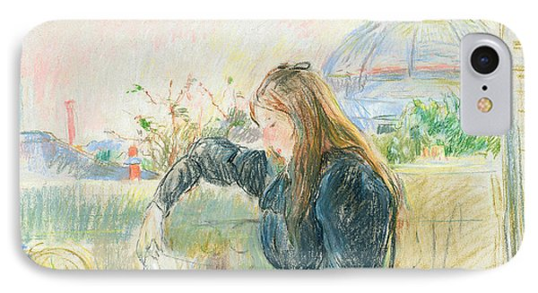 On The Balcony Phone Case by Berthe Morisot