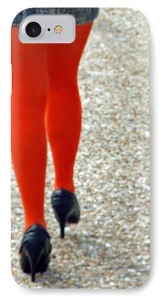 Orange Legs IPhone Case by Cora Wandel