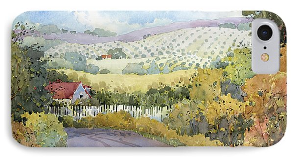 Out Santa Rosa Creek Road IPhone Case by Joyce Hicks
