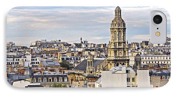Paris Rooftops Phone Case by Elena Elisseeva