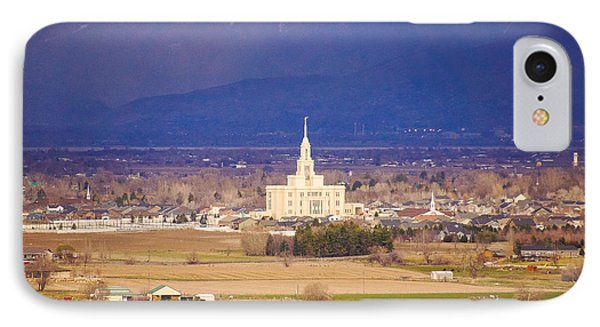 Payson Temple IPhone Case