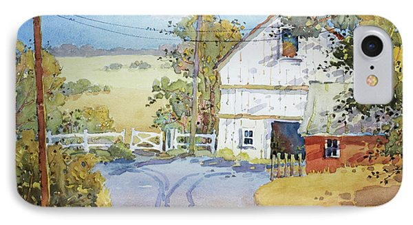 Peaceful In Pennsylvania IPhone Case by Joyce Hicks