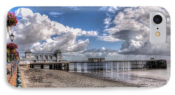 Penarth Pier 3 IPhone Case by Steve Purnell