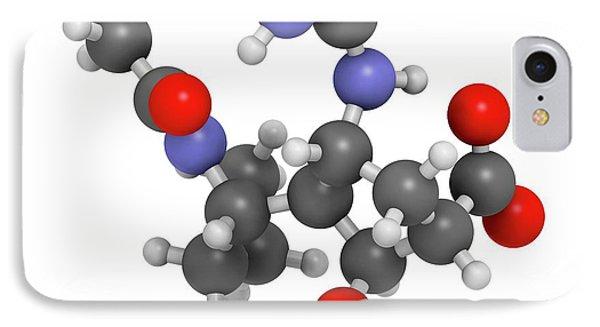 Peramivir Influenza Drug Molecule IPhone Case by Molekuul