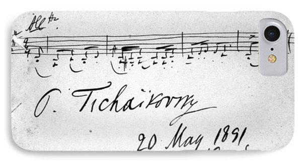 Peter Ilich Tchaikovsky (1840-1893) IPhone Case by Granger