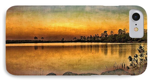 IPhone Case featuring the photograph Pine Glades Lake by Anne Rodkin