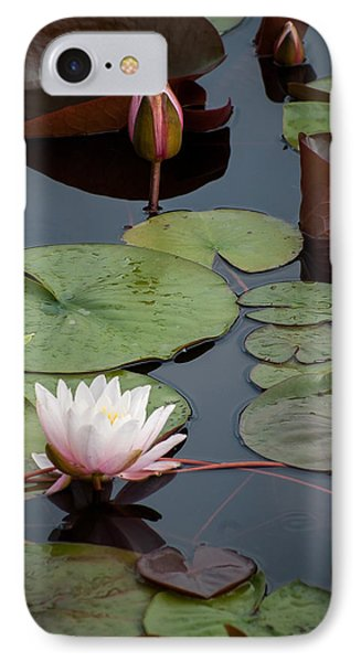 IPhone Case featuring the photograph Pink Water Lily by Wayne Meyer